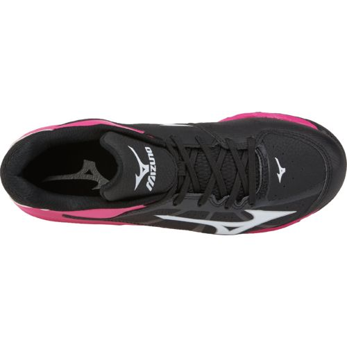 Mizuno Girls' Finch Franchise 6 Advanced 9-Spike Molded Softball Cleats - view number 4