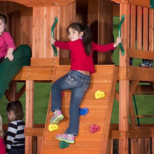Backyard Discovery™ Liberty II Wooden Swing Set - view number 5
