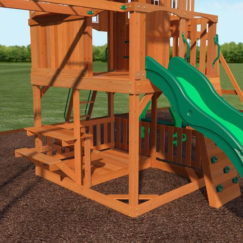 Backyard Discovery™ Skyfort II Wooden Swing Set - view number 8