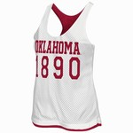 Colosseum Athletics Women's University of Oklahoma Triple Crown Reversible Tank Top