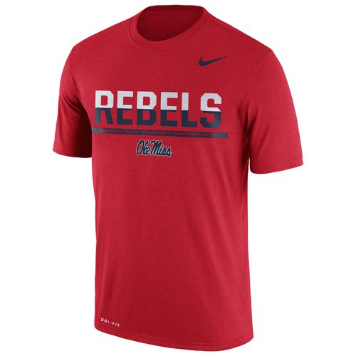 Nike™ Men's University of Mississippi Legend Staff T-shirt