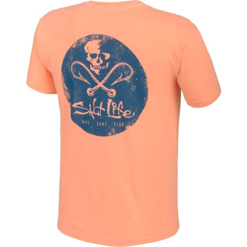 Salt Life Men's Hooks Badge T-shirt