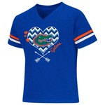 Colosseum Athletics Girls' University of Florida Football Fan T-shirt