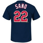 Majestic Men's Minnesota Twins Miguel Sano #22 T-shirt - view number 1
