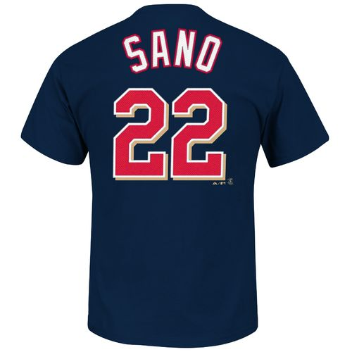 Majestic Men's Minnesota Twins Miguel Sano #22 T-shirt