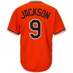 Majestic Men's Baltimore Orioles Reggie Jackson #9 Cooperstown Cool Base 1965-66 Replica Jersey - view number 1