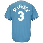 Majestic Men's Kansas City Royals Harmon Killebrew #3 Cooperstown Cool Base Replica Jersey