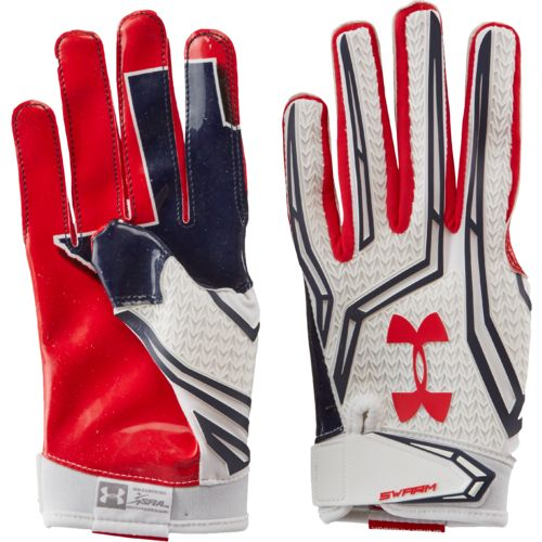 Under Armour® Men's Texas Swarm Receiver Gloves