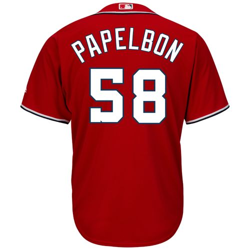 Majestic Men's Washington Nationals Jonathan Papelbon #58 Cool Base Replica Jersey
