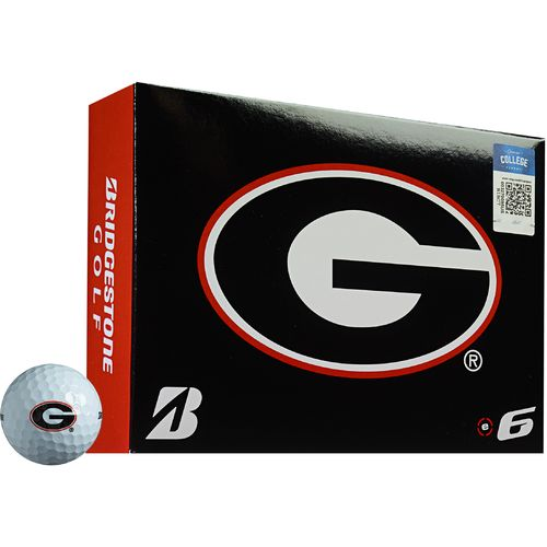 Bridgestone Golf University of Georgia e6 Golf Balls 12-Pack