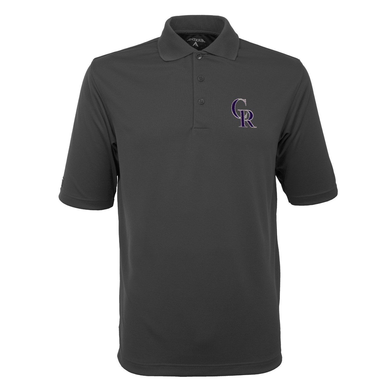 Antigua Men's Colorado Rockies Exceed Polo Shirt