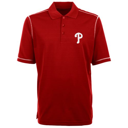 Antigua Men's Philadelphia Phillies Piqué Polo Shirt