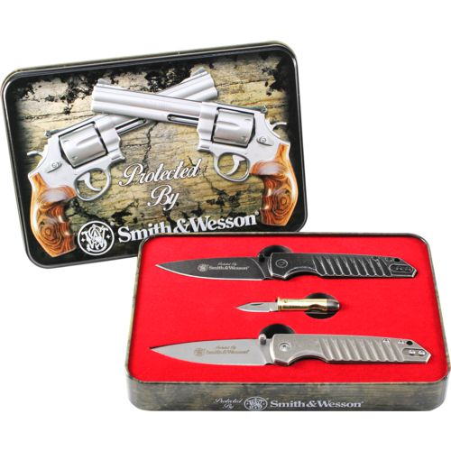 Smith & Wesson Limited Edition Collector's Clip Folding Knife Set