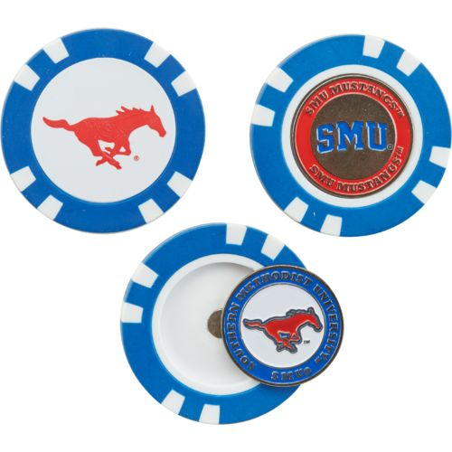 Team Golf Southern Methodist University Golf Chip Markers 3-Pack