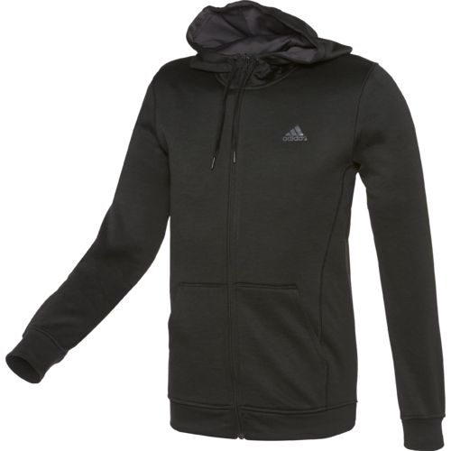 adidas™ Men's Team Issue Fleece Full Zip Hoodie