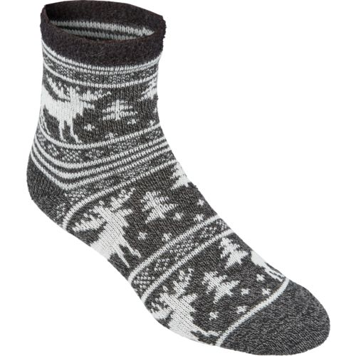 Magellan Outdoors Women's Lodge Moose Pattern Socks