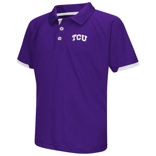 Colosseum Athletics™ Boys' Texas Christian University Spiral Polo Shirt