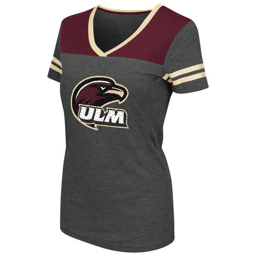 Colosseum Athletics™ Women's University of Louisiana at Monroe Twist V-neck T-shirt