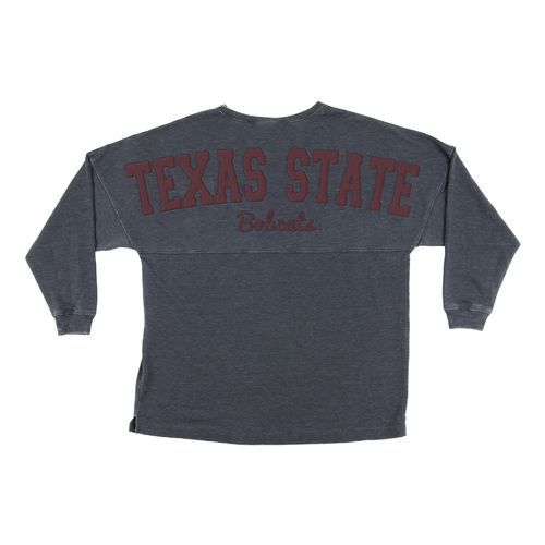 Chicka-d Women's Texas State University French Terry Varsity Jersey