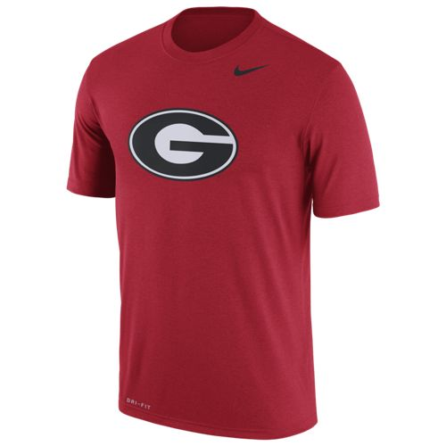 Nike Men's University of Georgia Dri-FIT Legend Logo Short Sleeve T-shirt