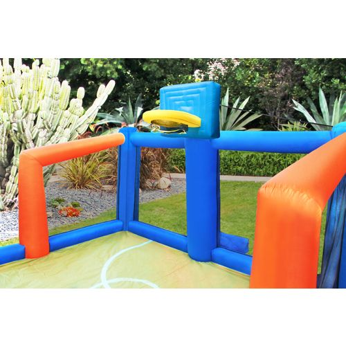 Sportspower Fly Slama Jama Inflatable Basketball Court - view number 2