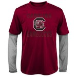 Gen2 Kids' University of South Carolina Bleachers Double Layer Long Sleeve T-shirt