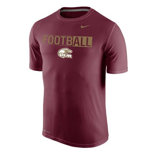 Nike™ Men's University of Louisiana at Monroe Dri-FIT Legend 2.0 Short Sleeve T-shirt