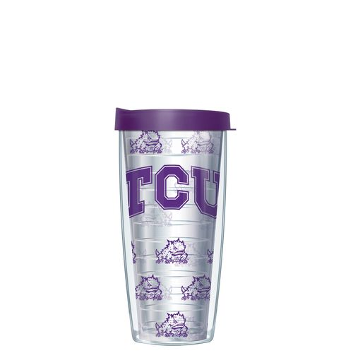 Signature Tumblers Texas Christian University 16 oz. Super Traveler Tumbler