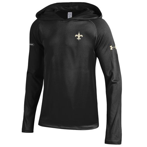 Under Armour™ NFL Combine Authentic Boys' New Orleans Saints Tech Hoodie