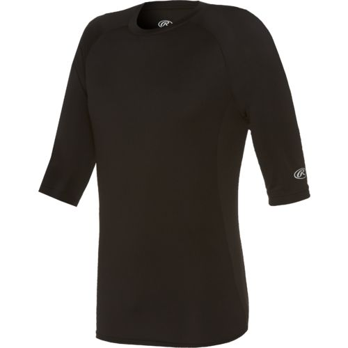 Rawlings Men's 3/4 Length Sleeve Performance Shirt