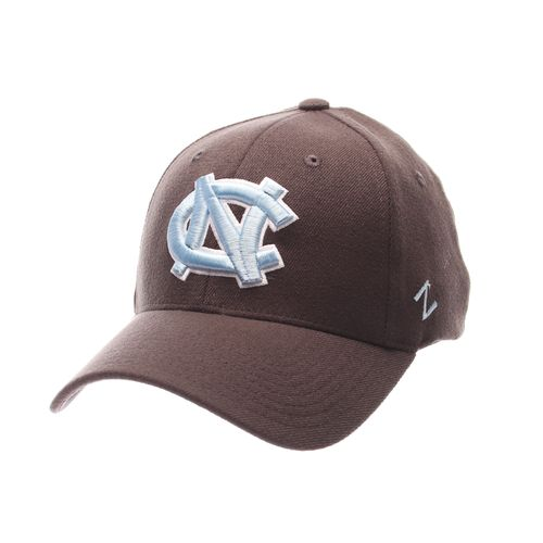 Zephyr Men's University of North Carolina Charcoal Flex Cap