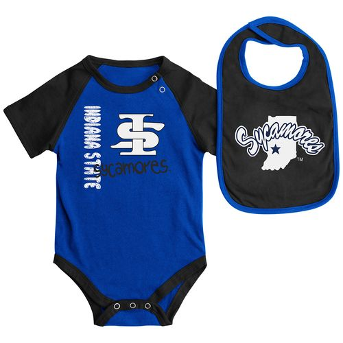 Colosseum Athletics™ Infants' Indiana State University Rookie Onesie Set