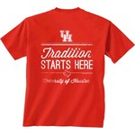New World Graphics Men's University of Houston Tradition T-shirt