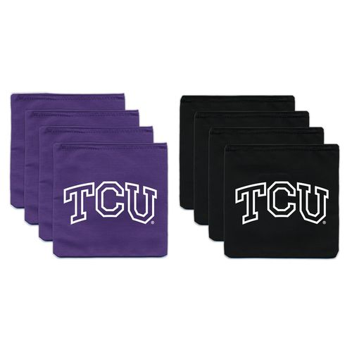 BAGGO® Texas Christian University 9.5 oz. Replacement Beanbag Toss Beanbags 8-Pack
