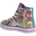 SKECHERS Girls' Twinkle Toes Shuffles Trendy Talk Shoes - view number 3