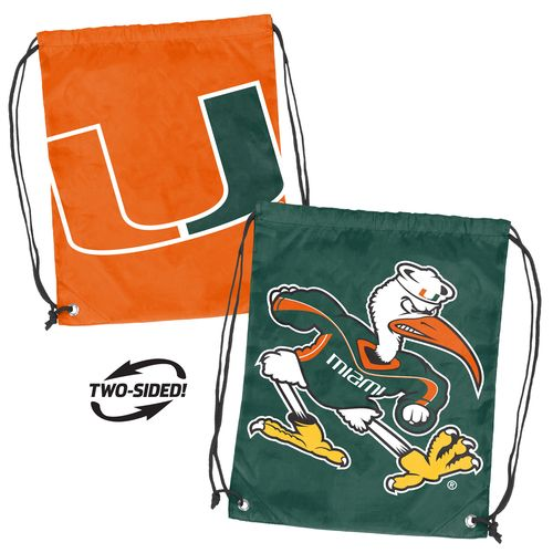 Logo™ University of Miami Doubleheader Backsack - view number 1