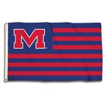 BSI University of Mississippi 3' x 5' Fan Flag - view number 1