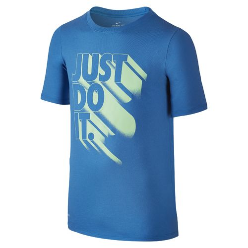 Nike Boys' Nike Dry Just Do It Again Short Sleeve T-shirt