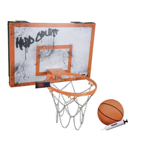 Franklin Hard Court Basketball Game with Electronic Backboard