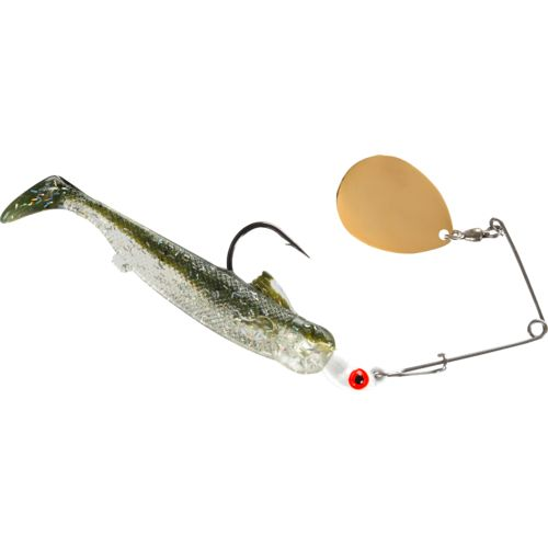BOMBER Lures Drumbeater Coastal 1/4 oz. Spinnerbait
