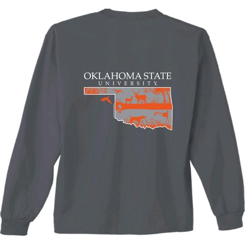 New World Graphics Men's Oklahoma State University State Sportsman Long Sleeve T-shirt