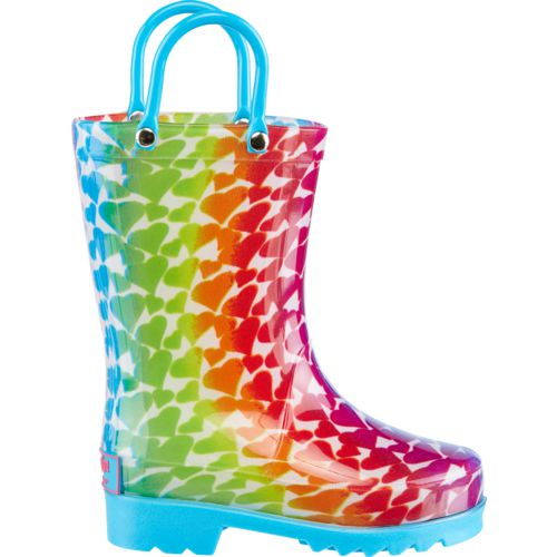 Display product reviews for Austin Trading Co.™ Girls' Ombré Heart Boots