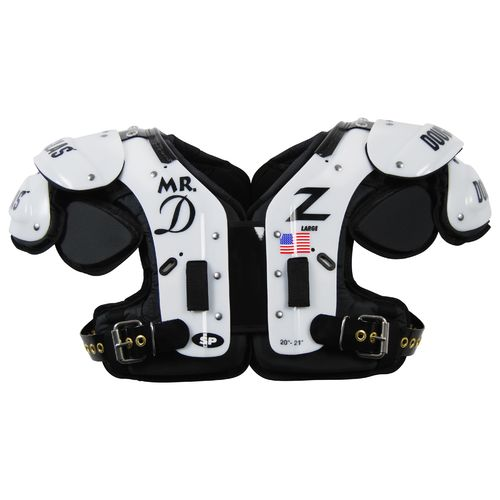 Douglas Adults' Standard Pro MR.DZ LB/FB Shoulder Pad