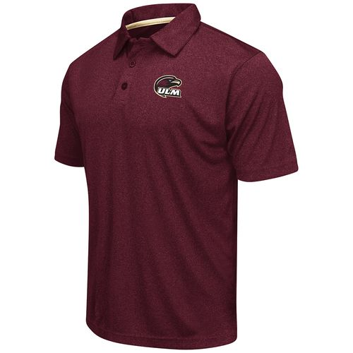 Colosseum Athletics™ Men's University of Louisiana at Monroe Academy Axis Polo Shirt
