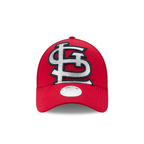 New Era Women's St. Louis Cardinals Glitter Glam 9FORTY Cap - view number 6