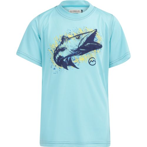 Magellan Outdoors Boys' Barracuda Glow Graphic T-shirt