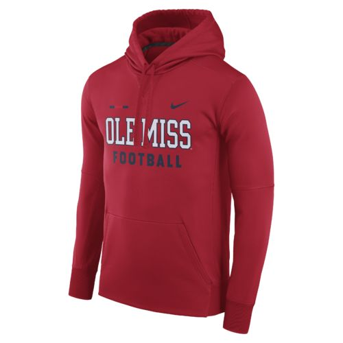 Nike™ Men's University of Mississippi Therma-FIT Pullover Hoodie