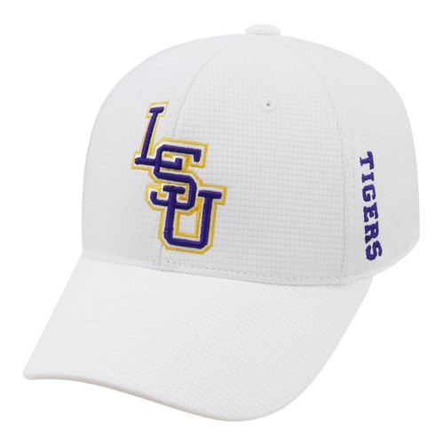 Top of the World Men's Louisiana State University Booster Plus Flex Cap - view number 1