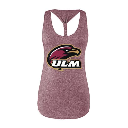 Chicka-d Women's University of Louisiana at Monroe Braided Tank Top