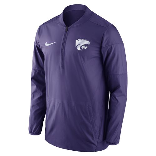 Nike™ Men's Kansas State University Lockdown 1/2 Zip Jacket